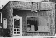 <p>Two brothers took over an existing pizza restaurant in Ypsilanti, MI, in the early 1960s before expanding to other locations. Founder Tom Monaghan officially named their chain Domino's in 1965, and the domino logo quickly followed.</p>