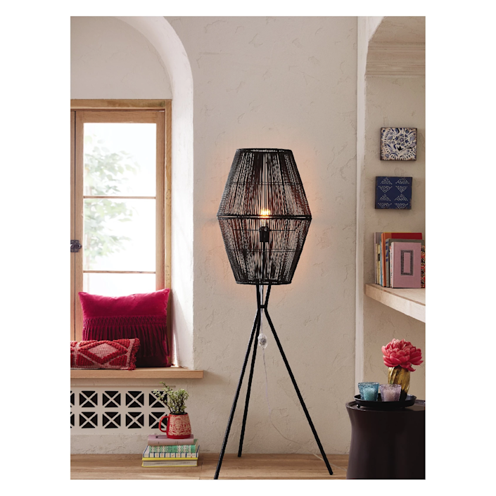 """<h3><strong>Target</strong></h3> <br><br><strong>Best For: Affordable Furniture & Decor<br></strong>Target has really stepped up its home-decor game in recent years, meaning you can grab pieces that look way more luxe than they actually cost. Shopping online has its perks, since many of Target's wares are web exclusives. Still, it can be overwhelming, and it can be hard to find the perfect piece just through search. We recommend checking out some of our favorite collections, like <a href=""""https://www.target.com/b/opalhouse/-/N-tgvvk"""" rel=""""nofollow noopener"""" target=""""_blank"""" data-ylk=""""slk:Opalhouse"""" class=""""link rapid-noclick-resp"""">Opalhouse</a> or <a href=""""http://www.target.com/c/threshold-brand-shop/-/N-56clv"""" rel=""""nofollow noopener"""" target=""""_blank"""" data-ylk=""""slk:Threshold"""" class=""""link rapid-noclick-resp"""">Threshold</a>, as well as keeping an eye out for some of Target's amazing collaborations, like the seasonal releases from Joanna Gaines.<br><br><a href=""""http://www.target.com/"""" rel=""""nofollow noopener"""" target=""""_blank"""" data-ylk=""""slk:Shop Target"""" class=""""link rapid-noclick-resp""""><strong><em>Shop Target</em></strong></a><br><br><strong>Opalhouse</strong> Rattan Diamond Tripod Floor Lamp, $, available at <a href=""""https://go.skimresources.com/?id=30283X879131&url=https%3A%2F%2Fwww.target.com%2Fp%2Frattan-diamond-tripod-floor-lamp-black-includes-cfl-light-bulb-opalhouse-8482%2F-%2FA-53072634"""" rel=""""nofollow noopener"""" target=""""_blank"""" data-ylk=""""slk:Target"""" class=""""link rapid-noclick-resp"""">Target</a><br><br><br><br>"""