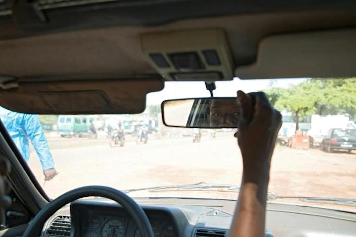 Learning to drive on Mali's chaotic roads requires steely nerves (AFP/ANNIE RISEMBERG)