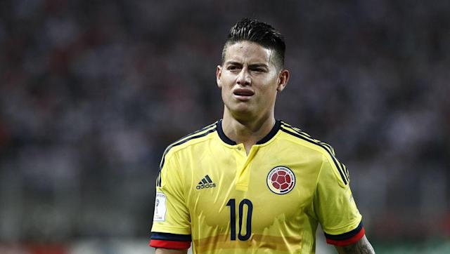 <p>Colombia's James Rodriguez certainly made a name for himself in the 2014 World Cup in Brazil. James earned the Golden Boot, the goal of the tournament, and was selected in the team of the tournament for his stellar performances in that year's competition. </p> <br><p>His efforts helped Colombia reach its first ever World Cup quarter finals.</p> <br><p>His tournament success earned him a big money move to Real Madrid. Now playing at Bayern Munich, James will be aiming for another successful tournament in Russia.</p>
