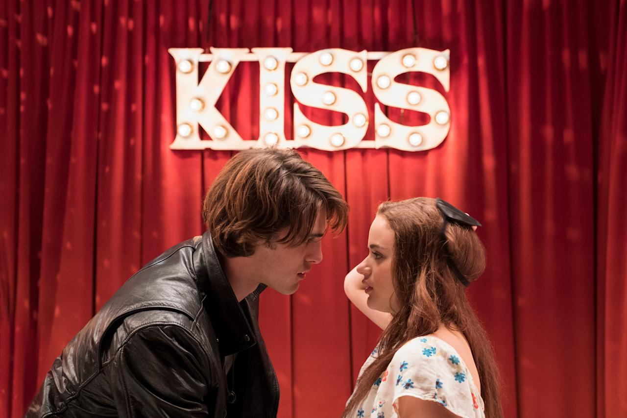 """<p>You haven't lived until you've seen this delightfully over-the-top Netflix original about a high school student (Joey King) who has a crush on her male best friend's brother. You'll have to watch to find out how a kissing booth plays in to all of this, but trust me: It's worth it.</p> <p><em>Available to stream on</em> <a href=""""https://www.netflix.com/title/80143556"""" rel=""""nofollow"""" target=""""_blank""""><em>Netflix</em></a><em>.</em></p>"""