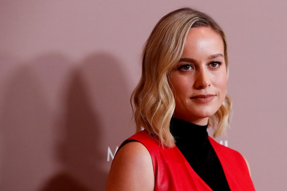 Actor Brie Larson poses as she attends Variety's 2019 Power of Women: Los Angeles, in Beverly Hills, California, U.S., October 11, 2019. REUTERS/Mario Anzuoni