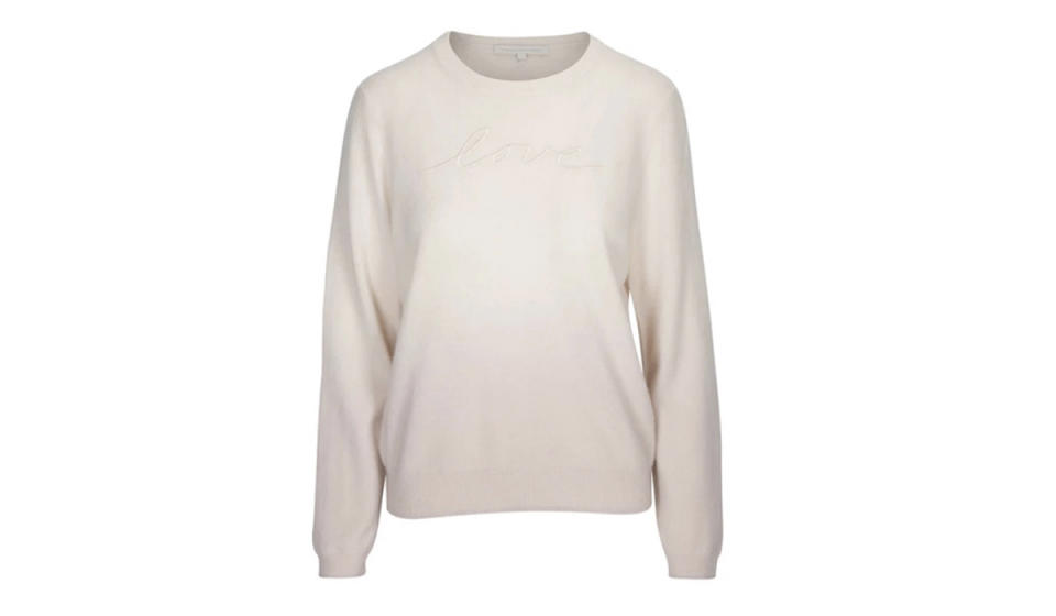 You won't just like-like this sweater, you'll love it. (Photo: Naked Cashmere)