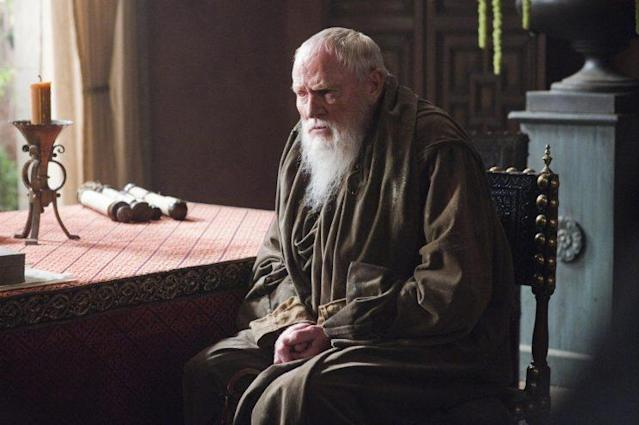Julian Glover as Grand Maester Pycelle. (Photo: HBO)