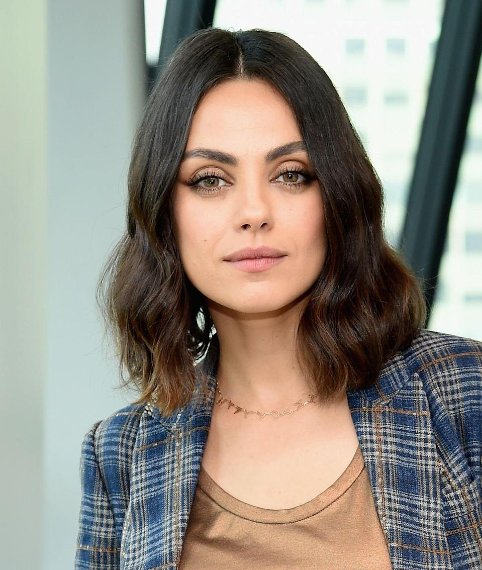 """<p>You may have noticed this actress's perfect brows and <a href=""""https://www.goodhousekeeping.com/beauty-products/a26991563/best-beauty-awards-2019/"""" rel=""""nofollow noopener"""" target=""""_blank"""" data-ylk=""""slk:glowing skin"""" class=""""link rapid-noclick-resp"""">glowing skin</a>, but her differing eye colors are harder to spot. Kunis suffered from chronic inflammation of the iris for a long time. """"I was blind in one eye for many years, and no one knew,"""" she <a href=""""https://abc7.com/archive/7890697/"""" rel=""""nofollow noopener"""" target=""""_blank"""" data-ylk=""""slk:told Cosmopolitan"""" class=""""link rapid-noclick-resp"""">told <em>Cosmopolitan</em></a> in 2011. Fortunately, as the result of surgery, she is no longer blind in that eye, though the (very pretty) difference in color has lasted.</p>"""
