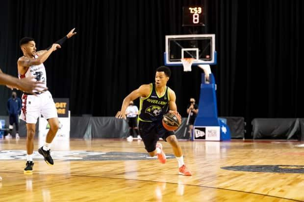 Niagara's Trae Bell-Haynes is seen above during the CEBL's 2020 Summer Series. Commissioner Mike Morreale said Monday the league is on track for its June 24 start date to return to home markets. (CEBL - image credit)