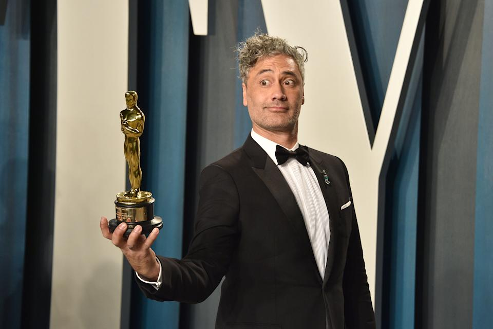 BEVERLY HILLS, CALIFORNIA - FEBRUARY 09: Taika Waititi attends the 2020 Vanity Fair Oscar Party at Wallis Annenberg Center for the Performing Arts on February 09, 2020 in Beverly Hills, California. (Photo by David Crotty/Patrick McMullan via Getty Images)