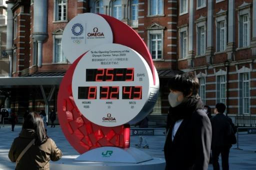 Countdown clocks in Tokyo have gone from displaying the number of days until the Games open to simply showing today's date and the time