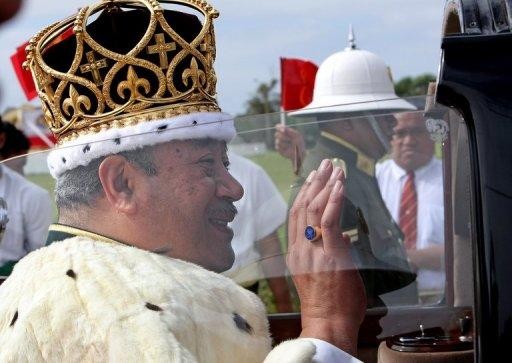 Tonga's King George Tupou V (pictured in 2008), who relinquished absolute power to bring democracy to the South Pacific nation, has died at the age of 63, the country's prime minister announced on Monday