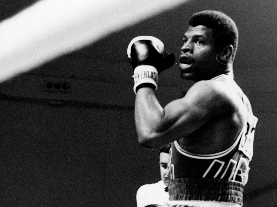 Leon Spinks won gold for the United States at the 1976 Olympics (AFP via Getty Images)