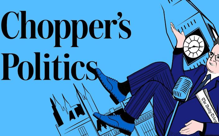 Listen to Chopper's Politics, The Telegraph's weekly political podcast featuring interviews with top politicians and commentators, hosted by Christopher Hope