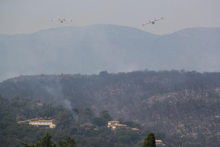 The local fire department said more than 3,500 hectares of forest and scrubland had burnt by Tuesday morning