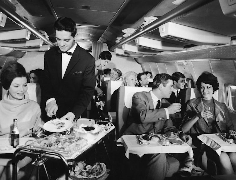 Today's business class is a far cry from how it used to be (Getty)
