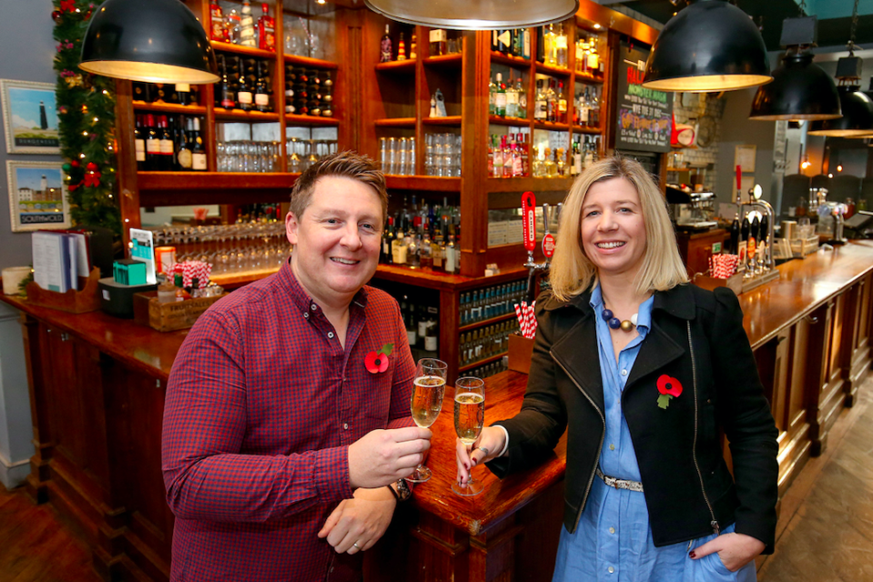 Mr Odolant-Smith manages 20 pubs in London (PA)