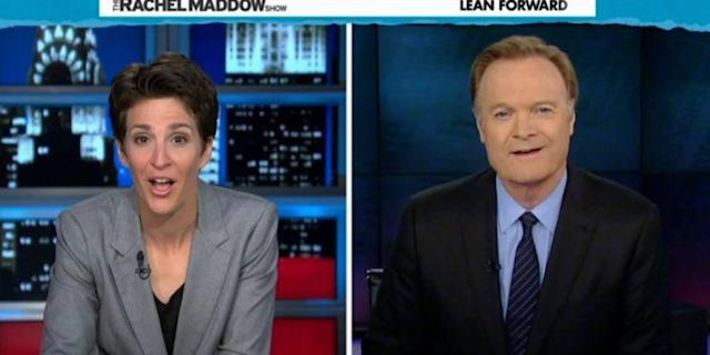 Rachel Maddow; Lawrence O'Donnell (Photos: MSNBC)