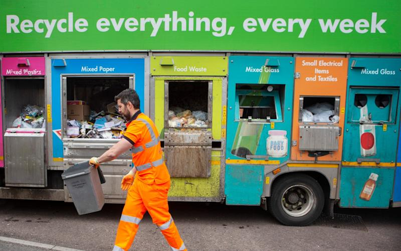 recycling in south Gloucestershire - Tom Pilston