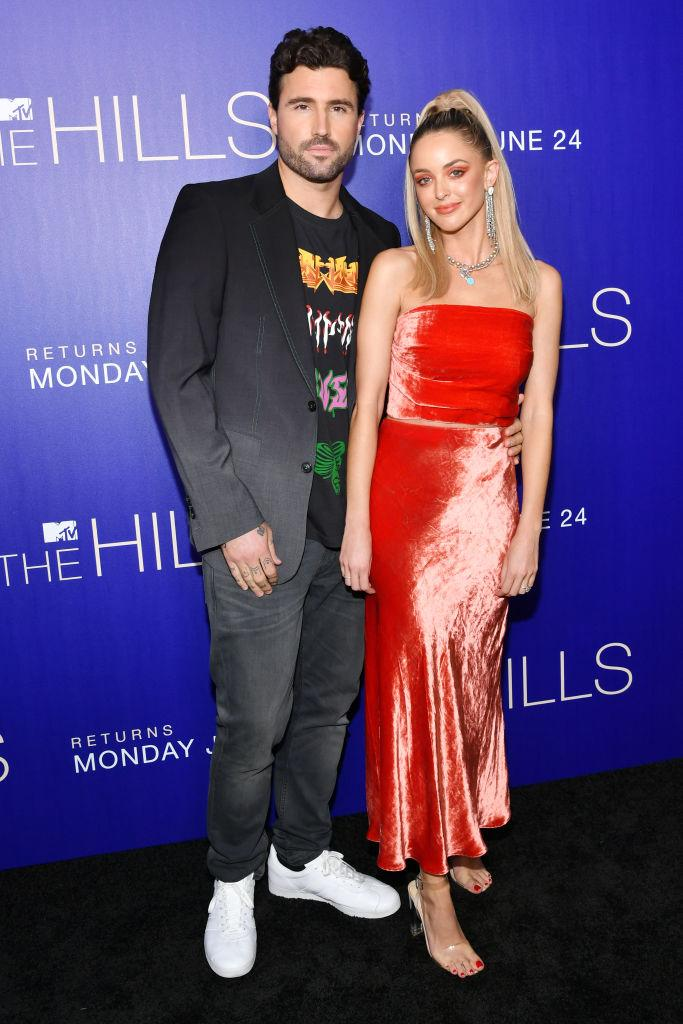 """Brody Jenner and Kaitlynn Carter Jenner attend the premiere of MTV's """"The Hills: New Beginnings"""" on June 19 in Los Angeles. (Photo"""" Amy Sussman/Getty Images)"""