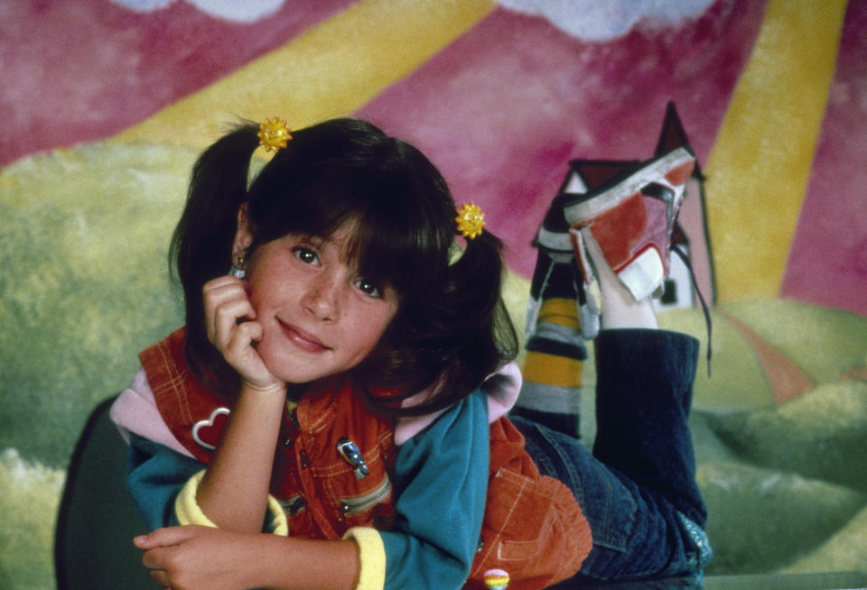 Soleil Moon Frye on 'Punky' Brewster' in the 1980s. (Photo: NBCU Photo Bank/NBCUniversal via Getty Images via Getty Images)