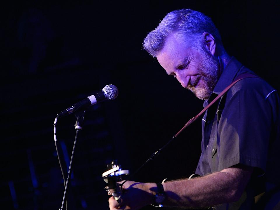Billy Bragg curated the Left Field stage of Glastonbury Festival (Getty)