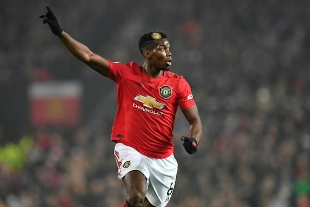 Manchester United's Paul Pogba was one of the star players being linked to a big-money move in Europe's summer window but the coronavirus pandemic will have a knock-on effect on the transfer industry (AFP Photo/Paul ELLIS)