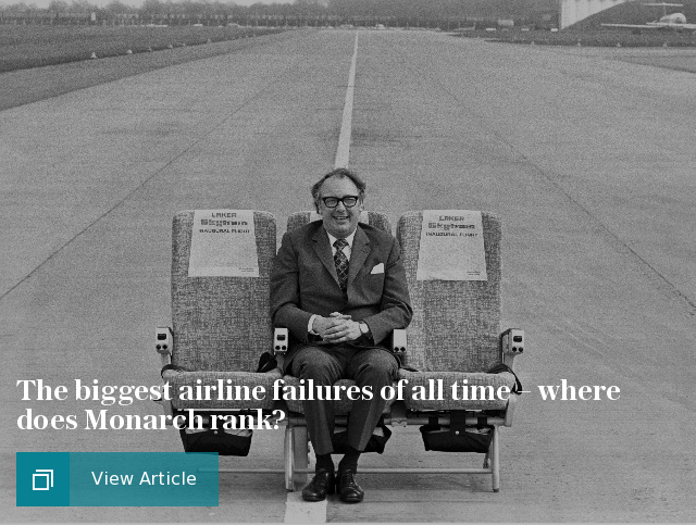 The biggest airline failures of all time – where does Monarch rank?