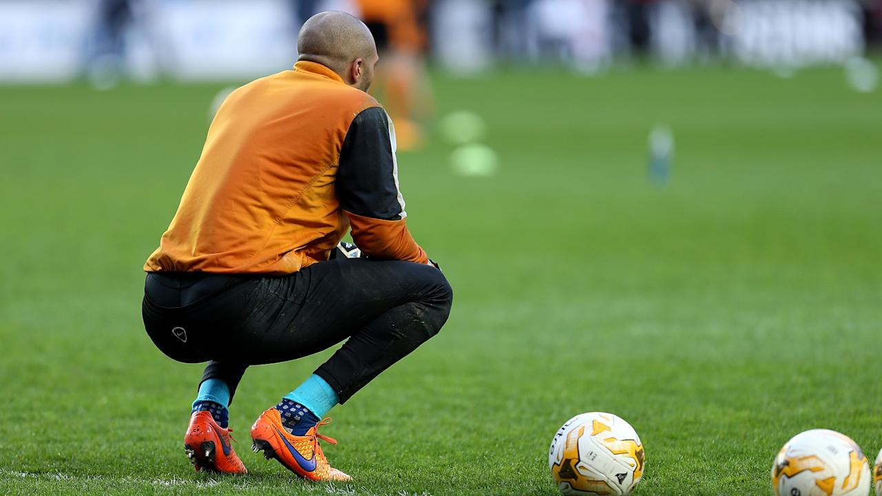 The goalkeeper picked up the knock while on international duty and it is unclear if he is ready for action when they face Cardiff
