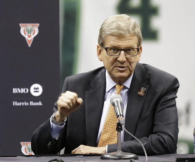 John Hammond had been the Bucks' GM since 2008. (AP)