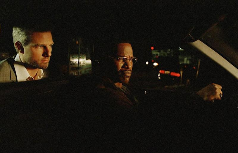 Tom Cruise and Jaime Foxx in Collateral