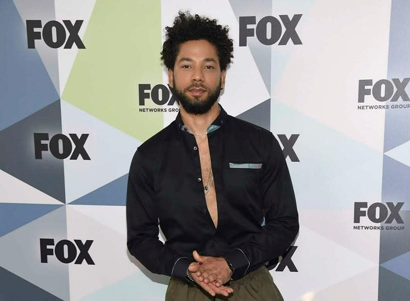 Police Suggest Jussie Smollett Paid 'MAGA' Attackers to Beat Him