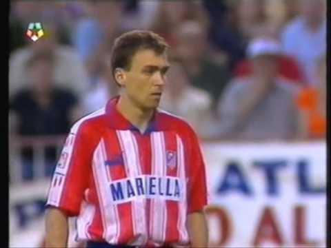 <p>The title winning season of 1995/96 was a special one for a number of reasons, not least because it was secured with a final day victory at the Calderon.</p> <br><p>It was Atletico's first La Liga success for 19 years, and there would not be another for a further 18. Fittingly, Diego Simeone scored the opener against Albacete, and celebrated in typically demonstrative fashion. And when Kiko scored the second there was delirium among the raucous home supporters.</p> <br><p>This was a rare title - Atletico won just five over the course of their half a century stay at the Calderon - and it was savoured.</p>