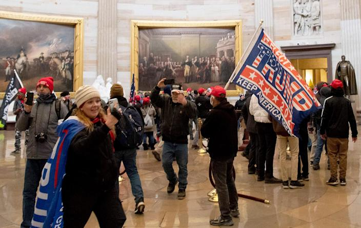 Image: Riot at the U.S. Capitol (Saul Loeb / AFP - Getty Images file)