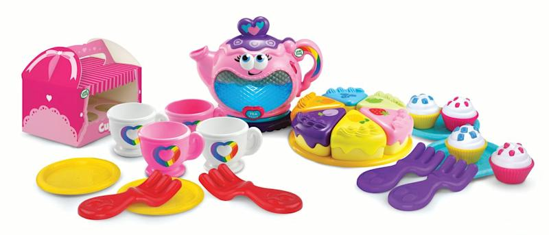 LeapFrog Musical Rainbow Tea Party. (Photo: Walmart)