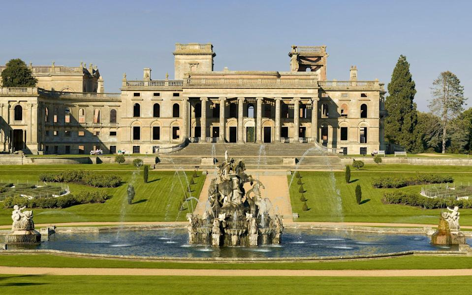 Witley Court will be among the first English Heritage properties to reopen, from 29 March - Getty