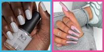"""<p>In the world of <a href=""""https://www.cosmopolitan.com/uk/beauty-hair/nails/g28165158/neon-nails/"""" rel=""""nofollow noopener"""" target=""""_blank"""" data-ylk=""""slk:bright nail colours"""" class=""""link rapid-noclick-resp"""">bright nail colours</a> it's easy to overlook the nondescript grey. However, as these designs prove, there's more to grey than just being the colour of Mrs Hinch's house. From <a href=""""https://www.cosmopolitan.com/uk/beauty-hair/nails/g28604888/ombre-nails/"""" rel=""""nofollow noopener"""" target=""""_blank"""" data-ylk=""""slk:ombre"""" class=""""link rapid-noclick-resp"""">ombre</a> acrylics, to <a href=""""https://www.cosmopolitan.com/uk/beauty-hair/nails/g28735671/marble-nails/"""" rel=""""nofollow noopener"""" target=""""_blank"""" data-ylk=""""slk:marble"""" class=""""link rapid-noclick-resp"""">marble</a> gels and reverse French manicures, we scoured Instagram to bring you our edit of the hottest grey nail inspiration out there, no matter your nail length or shape. </p><p>From salons like London's Nails & Brows Mayfair, to New York based Paintbox Nails, not to mention Lizzo's dedicated painter Eri Ishizu and everybody's favourite Instagram artist, Betina Goldstein.</p><p>Much like the film, there are multiple shades of grey, which is why we've also included a variety of skin tones, so you can see whether you would be best suited to a warm, cool, or neutral undertone.</p><p>If you don't want an all over shade, the neutrality of grey means it's the perfect backdrop for a bold pop of colour. Use a nail dotting tool to add a flash of neon yellow like Sabrina Gayle, or add some cute red lightning bolts like Jen Seales. Can't decide on just one pop of colour? Opt for Natalie Pavloski's mix and match reverse French mani.</p><p>Whatever you design you opt for, make sure to tag us in your nail pictures so we can see and share your handy work. Most importantly, don't even think about having your Sunday paint session without reading this first (50 Shades of grey playing in the background optional)...</p>"""