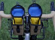 """Andrew the Maker (ATM) Handmade Goods is a one-man show. Based in Kansas City, Missouri, Andrew custom makes frame and accessory bags meant for endurance racing and urban commuting. An avid <a href=""""https://www.cntraveler.com/story/why-bikepacking-is-the-travel-trend-were-trying-this-year?mbid=synd_yahoo_rss"""" rel=""""nofollow noopener"""" target=""""_blank"""" data-ylk=""""slk:cyclist"""" class=""""link rapid-noclick-resp"""">cyclist</a> himself, Andrew crafts all his products to meet his own high expectations, with accessibility, stability, and longevity in mind. The <a href=""""https://cna.st/affiliate-link/64ZhAxL8hivgT7QFgnDig3ewfzV3tksTkHHoGhJowdZKgq3aRr113vv8M3PhE49V64FDa4d9nhiesWJK3MEYpfvJb4sJ2f5KT6i4KnPy?cid=6088358d211142d4f9886bd4"""" rel=""""nofollow noopener"""" target=""""_blank"""" data-ylk=""""slk:Little Hatch Sack"""" class=""""link rapid-noclick-resp"""">Little Hatch Sack</a> has two straps that hold the bag in place on most any handlebars, with pockets for a <a href=""""https://www.cntraveler.com/gallery/best-reusable-water-bottles-stainless-insulated?mbid=synd_yahoo_rss"""" rel=""""nofollow noopener"""" target=""""_blank"""" data-ylk=""""slk:water bottle"""" class=""""link rapid-noclick-resp"""">water bottle</a>, phone, and snacks. $65, Andrew the Maker. <a href=""""https://www.andrewthemaker.com/shop/littlehatch"""" rel=""""nofollow noopener"""" target=""""_blank"""" data-ylk=""""slk:Get it now!"""" class=""""link rapid-noclick-resp"""">Get it now!</a>"""
