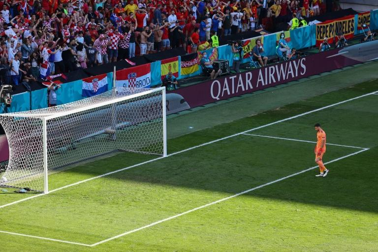 Unai Simon's lapse of concentration resulted in an own goal for teenage midfielder Pedri against Croatia