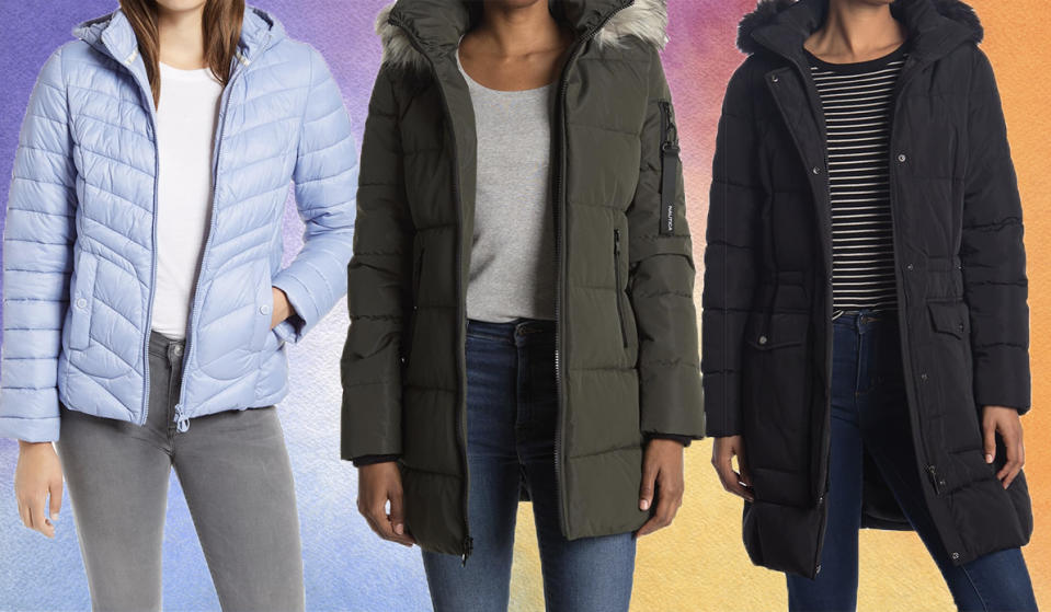 Grab a new puffer for winter. (Photo: Nordstrom Rack)
