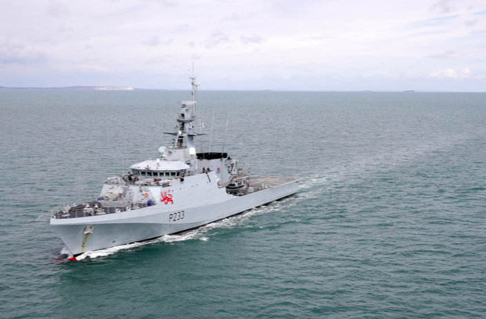 HMS Tamar was officially commissioned into service in December 2020. (Ministry of Defence)