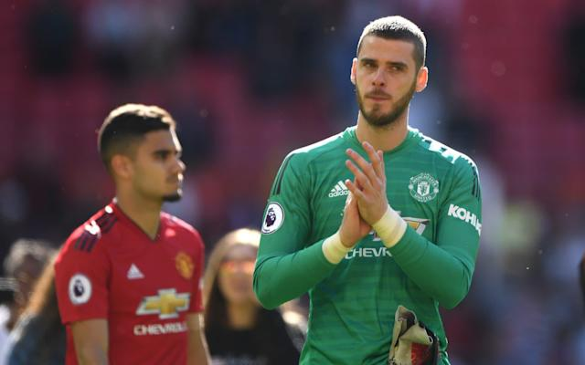 David de Gea is about to enter the final 12 months of his current deal - Getty Images Europe