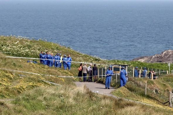 Driver dies after 80ft cliff plunge at tourist spot in Cornwall
