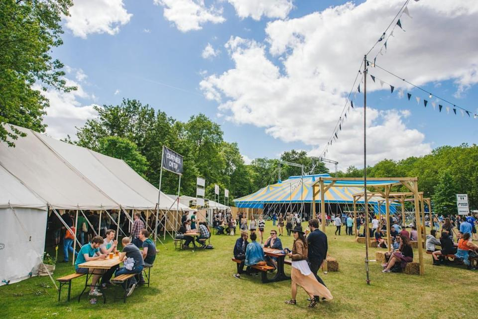 """<p>Having recently moved from its East London home to Brockwell Park south of the river, Field Day attracts an equally trendy array of acts and clientelle. <a href=""""http://fielddayfestivals.com/"""" rel=""""nofollow noopener"""" target=""""_blank"""" data-ylk=""""slk:Join them from June 1 – 2"""" class=""""link rapid-noclick-resp"""">Join them from June 1 – 2</a>. <em>[Photo: Field Day]</em> </p>"""