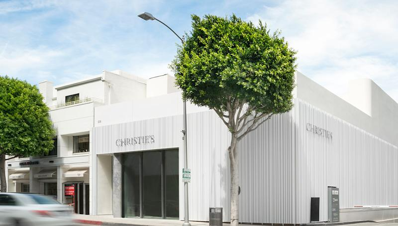 "When curating the art exhibition for the grand opening of Christie's Beverly Hills flagship—a two-story, 5,400-square-foot building on North Camden Drive—Koji Inoue chose several pieces with a West Coast connection. ""I wanted [part of the exhibition] to be a story about art since the 1960s, with touchpoints to Los Angeles,"" says Inoue, who works as Christie's International Director of Post-War and Contemporary Art. ""There was a boldness in Los Angeles collectors in the 1960s."
