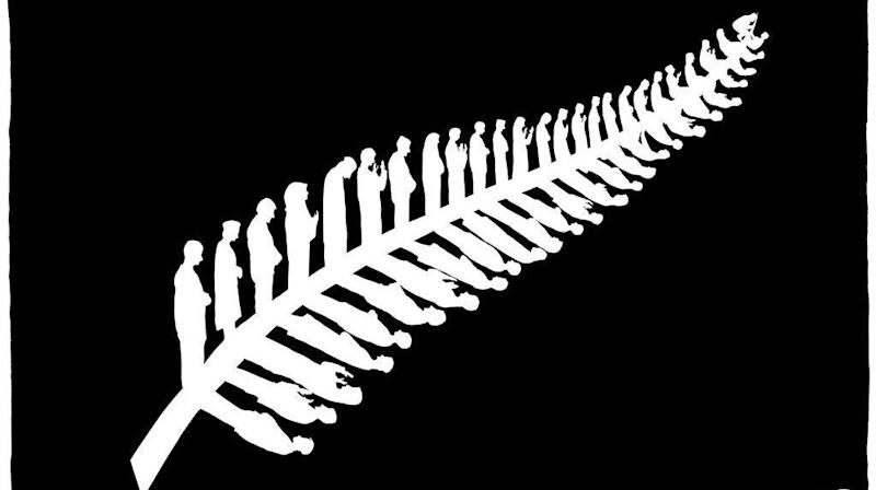 Cartoonist Redraws New Zealand's Silver Fern In Poignant Tribute To Mosque Victims