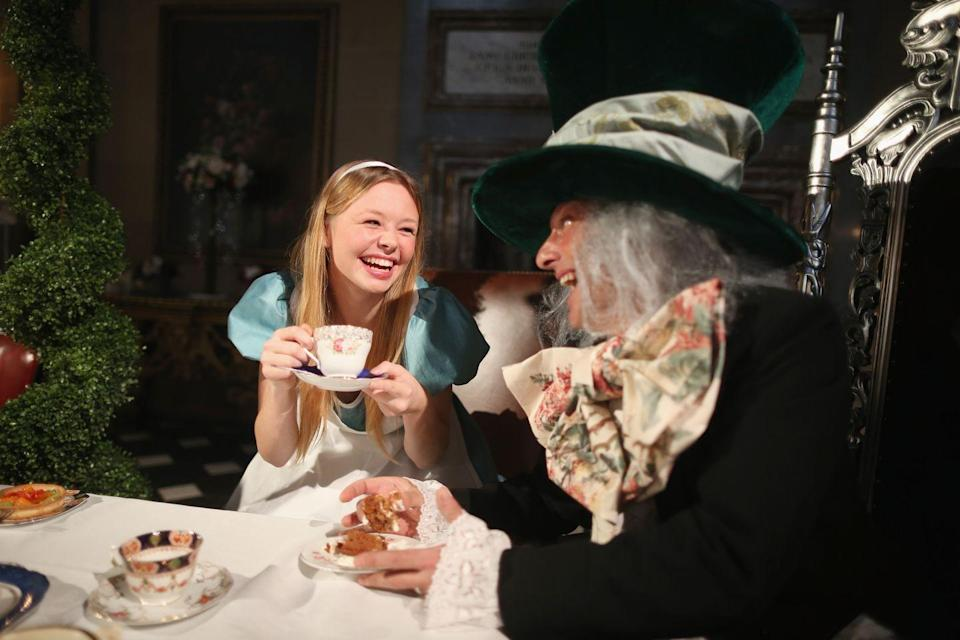 """<p>You'll have fun giving Johnny Depp and Mia Wasikowska a run for their money with these Alice and Mad Hatter costumes. </p><p><a class=""""link rapid-noclick-resp"""" href=""""https://go.redirectingat.com?id=74968X1596630&url=https%3A%2F%2Fwww.walmart.com%2Fip%2FAlice-In-Wonderland-Adult-Costume%2F39779664&sref=https%3A%2F%2Fwww.womenshealthmag.com%2Frelationships%2Fg33298559%2Fcouple-costume-ideas-for-halloween%2F"""" rel=""""nofollow noopener"""" target=""""_blank"""" data-ylk=""""slk:Shop Alice"""">Shop Alice</a></p><p><a class=""""link rapid-noclick-resp"""" href=""""https://go.redirectingat.com?id=74968X1596630&url=https%3A%2F%2Fwww.walmart.com%2Fip%2FAlice-In-Wonderland-Mad-Hatter-Hat%2F52410145&sref=https%3A%2F%2Fwww.womenshealthmag.com%2Frelationships%2Fg33298559%2Fcouple-costume-ideas-for-halloween%2F"""" rel=""""nofollow noopener"""" target=""""_blank"""" data-ylk=""""slk:Shop Mad Hatter"""">Shop Mad Hatter</a></p>"""