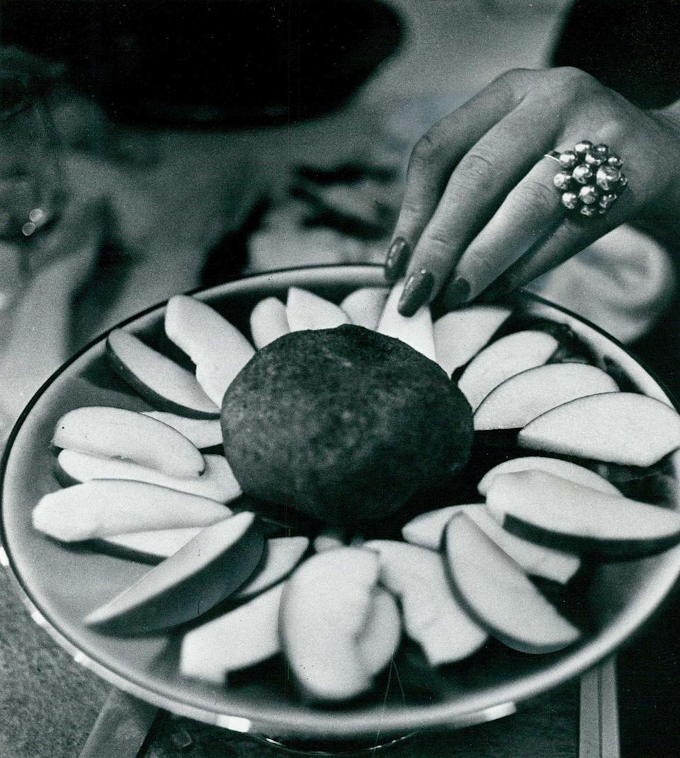 <p>The cheese ball was <em>the </em>food to bring or serve at a party during the '50s up until the late '70s. Serve it savory or sweet, there was no bad combination of flavors for the dish. </p>