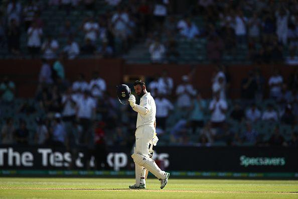 Pujara scored a well-deserved ton