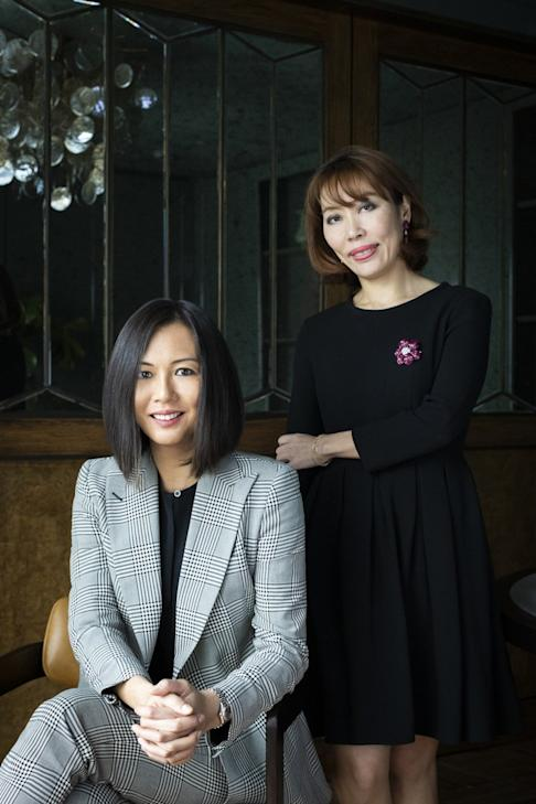 Apex Property co-founders Sylvia Tang (left) and Vicky Lam say being women did not put them at a disadvantage in the highly-competitive luxury property development. Photo: Handout