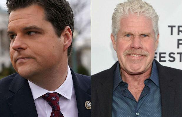Matt Gaetz's Twitter Beef With Ron Perlman Backfires With Botched 'Sons of Anarchy' Insult