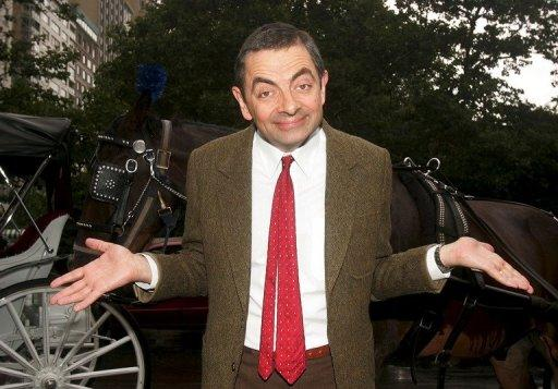 The real Mr Bean -- Rowan Atkinson -- in New York in 2007