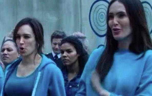 Daniielle joined the cast of Foxtel drama Wentworth for its fifth season, starring on the show alongside the likes of Nicole da Silva (pictured). Source: Instagram